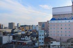aof Хиросима Япония scape города Стоковое Изображение RF
