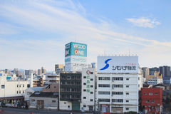 aof Хиросима Япония scape города Стоковое Фото