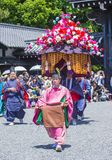 Aoi Matsuri στο Κιότο Ιαπωνία Στοκ Φωτογραφίες