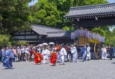 Aoi Matsuri στο Κιότο Ιαπωνία Στοκ Φωτογραφία