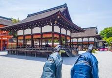 Aoi Matsuri στο Κιότο Ιαπωνία Στοκ φωτογραφίες με δικαίωμα ελεύθερης χρήσης