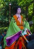 Aoi Matsuri στο Κιότο Ιαπωνία Στοκ εικόνες με δικαίωμα ελεύθερης χρήσης