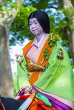 Aoi Matsuri στο Κιότο Ιαπωνία Στοκ εικόνα με δικαίωμα ελεύθερης χρήσης
