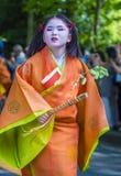 Aoi Matsuri στο Κιότο Ιαπωνία Στοκ Εικόνα