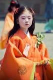 Aoi Matsuri Royalty Free Stock Photos