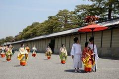 Aoi Matsuri (Hollyhock festival) Royalty Free Stock Images