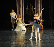 Aojiliya wonderful dancing attracted the prince.-The prince adult ceremony-ballet Swan Lake Stock Photos