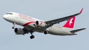 A6-AOK αέρας Αραβία, airbus A320-200 Στοκ Φωτογραφία