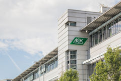 AOK building Royalty Free Stock Image