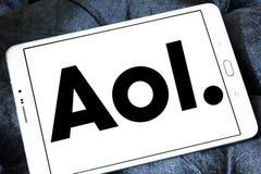 Aol firmy logo Fotografia Stock
