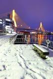 Aomoribrug Stock Foto