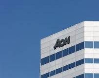 Aon Building Royalty Free Stock Photos