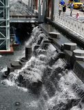 AON Waterfall Royalty Free Stock Image