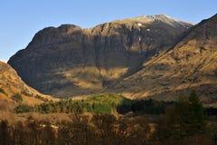 Aonach dubh, χειμώνας, Glencoe, Σκωτία Στοκ φωτογραφία με δικαίωμα ελεύθερης χρήσης