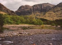 Aonach Dubh mountain, Glencoe Royalty Free Stock Images