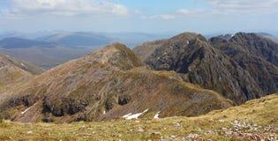 Aonach Eagach ridge royalty free stock image