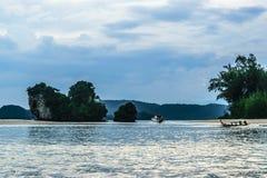 Aonang kustlinje Fotografering för Bildbyråer