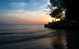 Aonang plaża Obrazy Stock