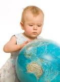 Aonde ir viajar com o miúdo? Fotografia de Stock Royalty Free