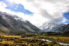 Aoraki Stock Photo