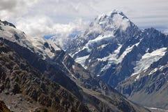 Aoraki, Berg-Koch National Park, Neuseeland Lizenzfreies Stockbild