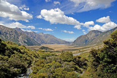 Aoraki, Berg-Koch National Park, Neuseeland Stockfotos