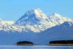 Aoraki/cozinheiro da montagem, Nova Zelândia fotos de stock royalty free