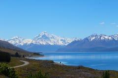 Aoraki/cozinheiro da montagem, Nova Zelândia imagem de stock royalty free