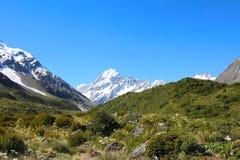 Aoraki/cozinheiro da montagem, Nova Zelândia imagens de stock royalty free