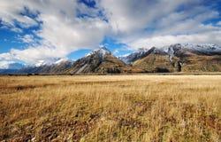 Aoraki góry Cook park narodowy Fotografia Royalty Free