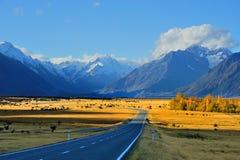 Aoraki-Mount Cook. In New Zealand Stock Photography