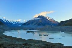 Aoraki-Mount Cook. In New Zealand Stock Image