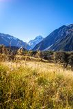 Aoraki Mount Cook, New Zealand Stock Photography