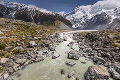 Aoraki Mount Cook National Park Royalty Free Stock Photos