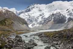 Aoraki Mount Cook National Park Stock Photography