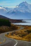 Aoraki/Mount Cook National Park, New Zealand Royalty Free Stock Photography