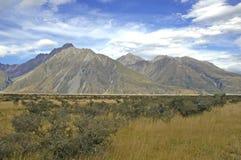 Aoraki, Mount Cook National Park, New Zealand Royalty Free Stock Photography