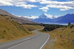 Aoraki, Mount Cook National Park, New Zealand Royalty Free Stock Images