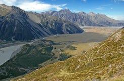 Aoraki, Mount Cook National Park, New Zealand Stock Photography