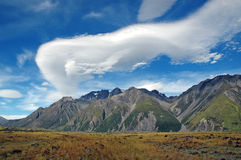 Aoraki, Mount Cook National Park, New Zealand Stock Image