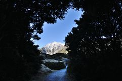 Aoraki Mount Cook Royalty Free Stock Photography