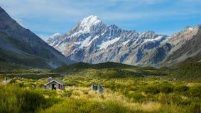 Aoraki/Mount Cook Royalty Free Stock Photo