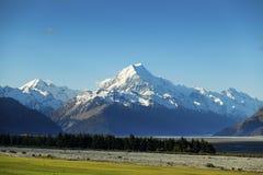 Aoraki Mount Cook Royalty Free Stock Photo