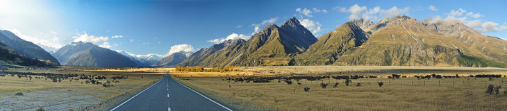 Aoraki-Mount Cook Royalty Free Stock Photos