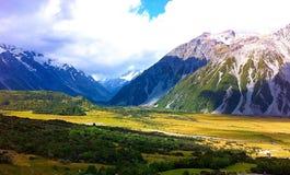 Aoraki, Mount Cook Royalty Free Stock Photography