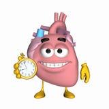Aorta di smiley - è tempo illustrazione vettoriale