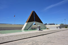 AOS Combatentes de monument font Ultramar à Belem à Lisbonne, Portuga Photo libre de droits