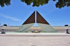 AOS Combatentes de monument font Ultramar à Belem à Lisbonne, Portuga Photos libres de droits