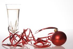 Años Nuevos de tostada del día Imagen de archivo libre de regalías