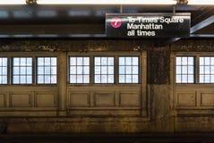 Aos Times Square Imagens de Stock